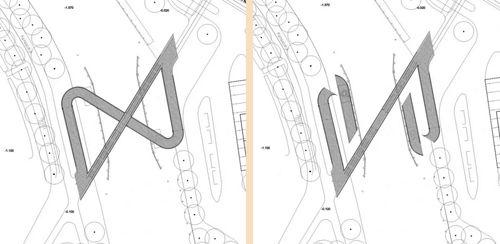схема разведения мобильного сектора моста