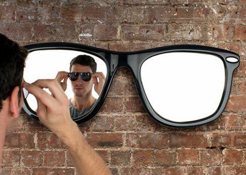 оригинальное дизайнерское зеркало