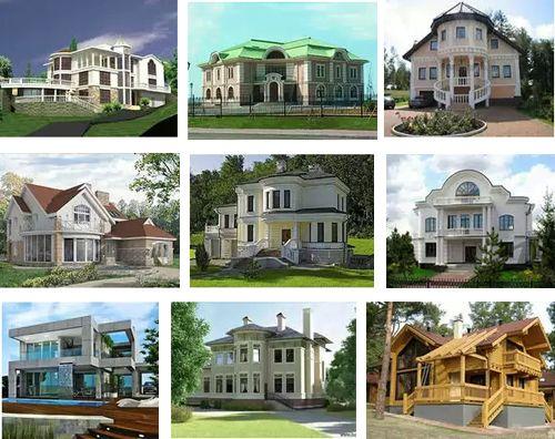 дизайн элитных российских коттеджей