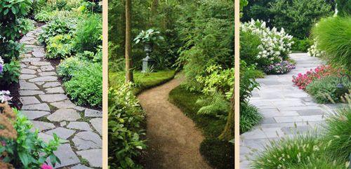 оптические иллюзии в дизайне маленького сада