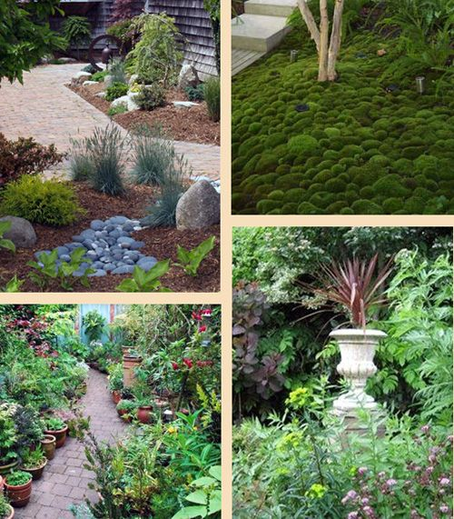 оформление маленьких садов