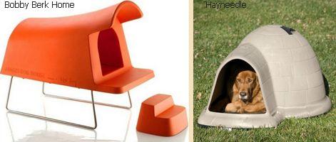 современные собачьи будки