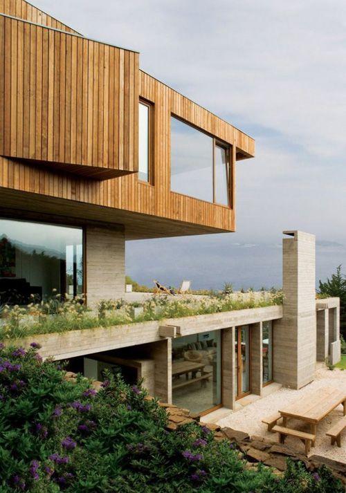 элитный дизайн загородного коттеджа