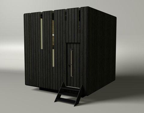 маленький передвижной дом Micro House