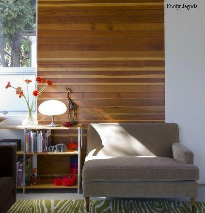 горизонтальный монтаж деревянных панелей