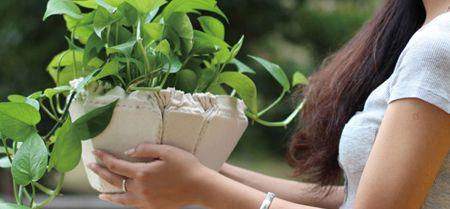 легкий сборно-разборный цветочный горшок