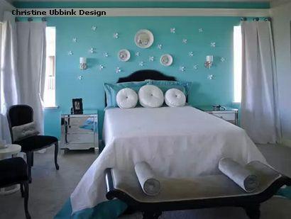 объемный декор стены в спальне