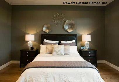 металлический декор в спальне