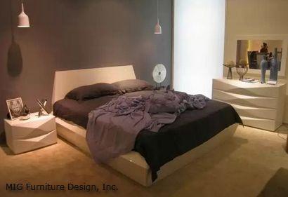 минималистический декор спальни