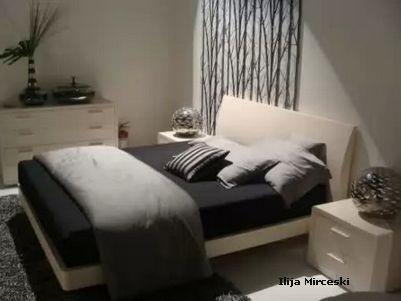 декоративное панно в интерьере спальни