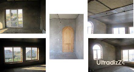 первоначальный вид комнаты без отделки и декора