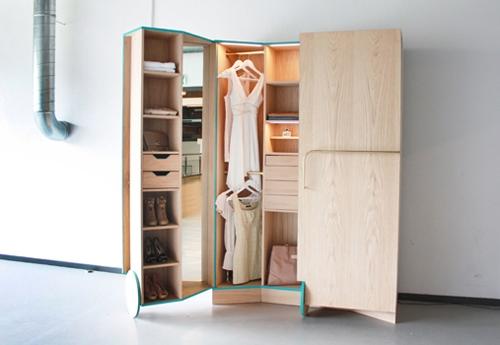 оригинальный гардеробный шкаф