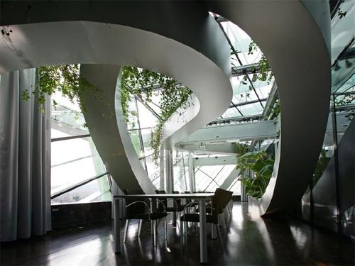 панорамный зимний сад