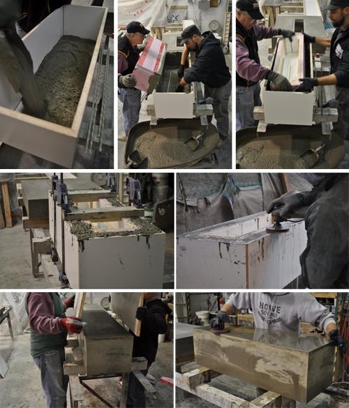 технология изготовления мебели из бетона