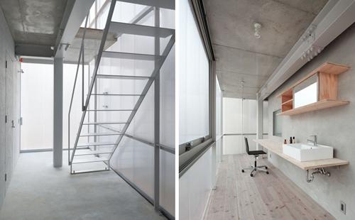 интерьер прозрачного дома