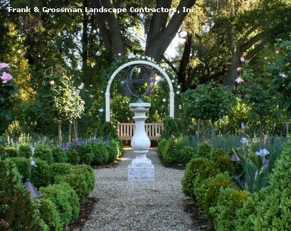 садовая арка как навес и обрамление