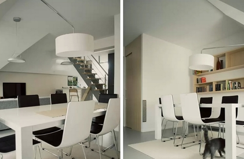 современная мебель в интерьере студии