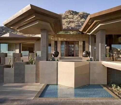 эксклюзивный дизайн двора дома