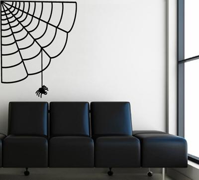 пауки и паутины в декоре интерьера