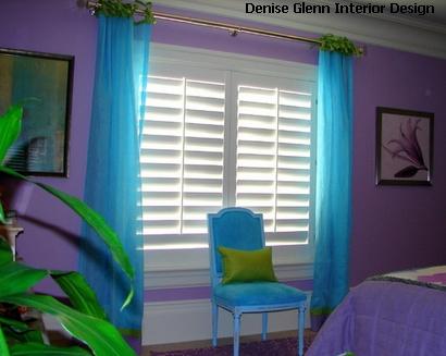 оригинальная цветовая гамма для спальни