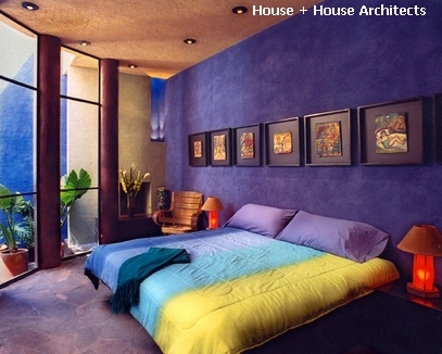 оригинальное сочетание цветов для спальни
