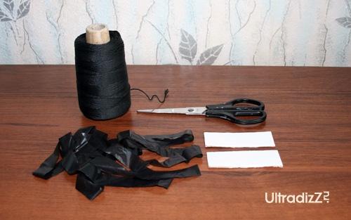 материалы для изготовления помпонов из пакетов