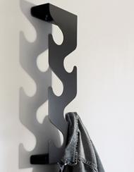 вертикальная вешалка для маленькой прихожей