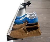 настенная полка для обуви в маленькую прихожую