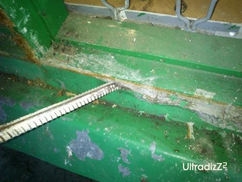 удаление отливов из оцинкованной стали