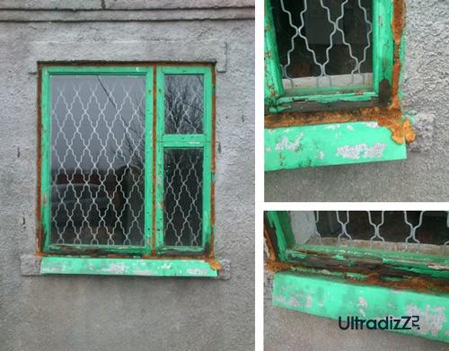 старые деревянные окна для дачи