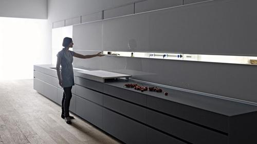 закрытые фасады кухни Logica Kitchen System
