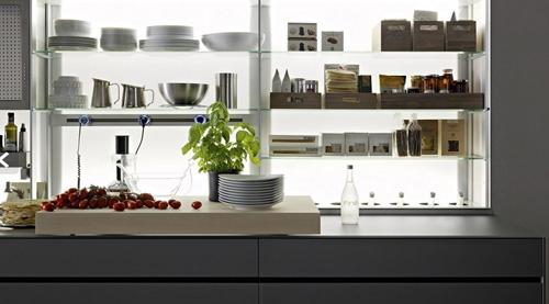 правая сторона кухни Logica Kitchen System