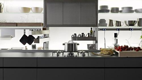 центральная часть кухни Logica Kitchen System