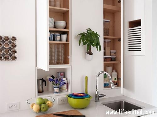 дизайн маленькой открытой кухни