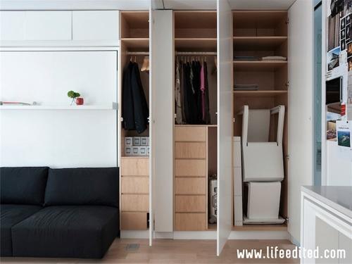 наполнение встроенной мебели