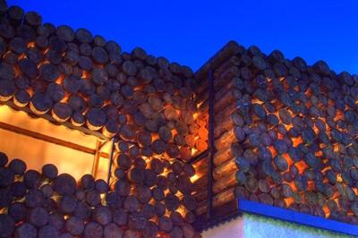 оригинальный дизайн фасада дома