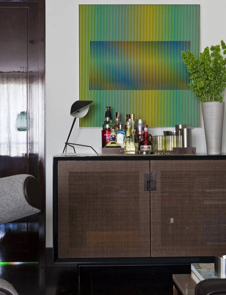 эксклюзивные детали интерьере квартиры