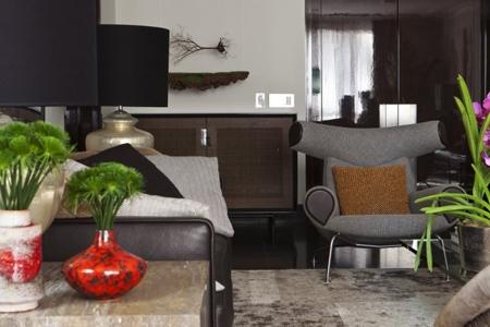 элитная мебель в интерьере гостиной
