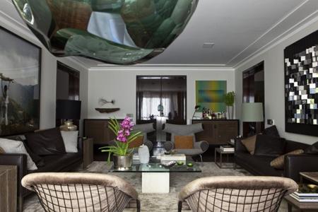 эксклюзивный интерьер гостиной
