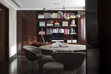 эксклюзивный интерьер домашнего кабинета