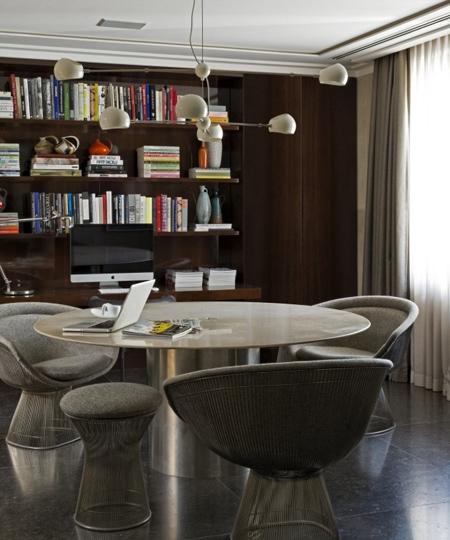 уникальная мебель в домашнем кабинете
