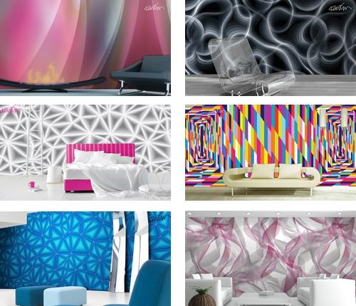 роскошные дизайнерские обои для стен