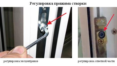 устранение дефекта пластикового окна своими руками