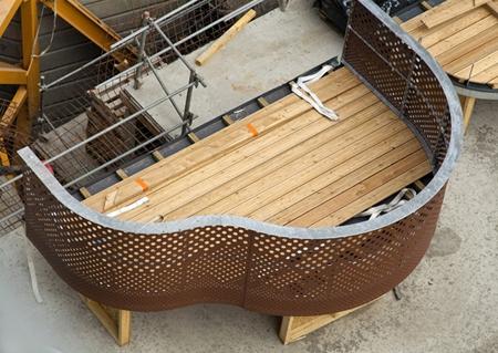устройство деревянного пола на балконе