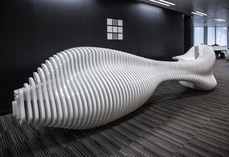 скульптурная офисная мебель
