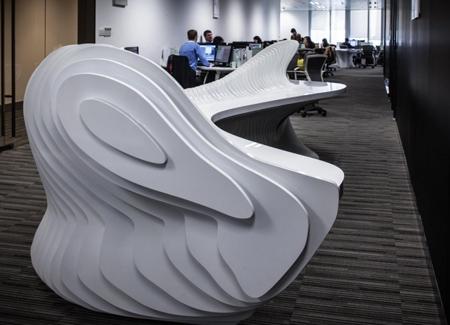 уникальный дизайн офисной стойки