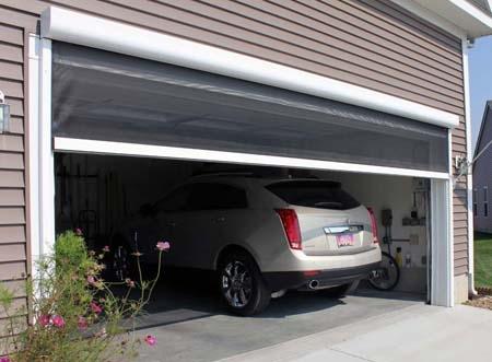 сетчатые вентиляционные экраны для гаража