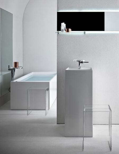 современный комплект для ванной