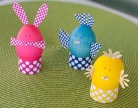 пасхальные символы из яиц