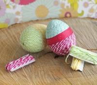 простой декор для пасхальных яиц